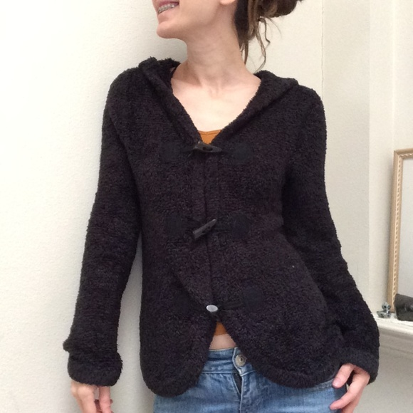 Nordstrom Sweaters - Bear Cozy Toggle Button Hoodie Sweater Cardigan
